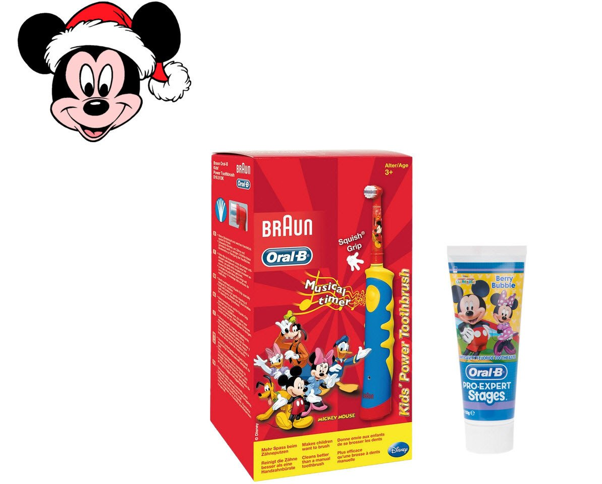 "Детский набор Oral-B Stages Power Disney ""Mickey Mouse"""