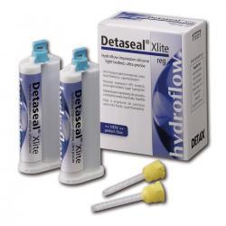 Detaseal hydroflow Xlite fast set, корригирующий материал, стандартная упаковка 2х50мл