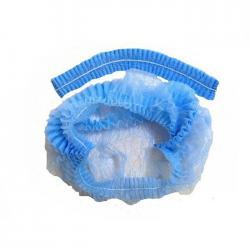 Шапочка-шарлотка Медиком, синяя (100 шт.)