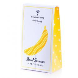 """Гель для детских зубов """"Sweet Banana"""" со вкусом сладкого банана"""